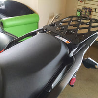 Long Luggage Rack  for the Kawasaki Versys KLZ1000'12-'17. KLZ 1000 '12-'17