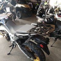 Long Luggage Rack Topcase Mount for the Honda African Twin Adventure Sports. 2019 Honda Africa Adv Spts. CRF1000L2