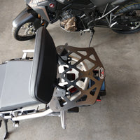 Short Luggage Rack for the Honda African Twin Adventure Sports. 2019 Honda Africa Adv Spts.