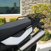 Long Luggage Rack for the BMW F650 GS, Twin, F700 GS, and F800 GS. F 650 GS, Twin, F 700 GS, and F 800 GS.The BMW F650GS, Twin F700GS, and F800GS