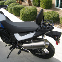 Short Luggage Rack for the BMW F650 GS, Twin, F700 GS, and F800 GS. F 650 GS, Twin, F 700 GS, and F 800 GS.The BMW F650GS, Twin F700GS, and F800GS