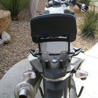 Mounting Plates to go with the Passenger Backrest for the BMW F 650 GS, Twin, F 700 GS, and  F 800 GS. BMW F650GS, Twin F700GS, and F800GS