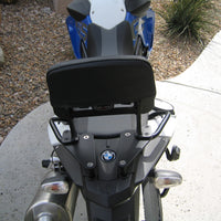 Passenger Backrest for the BMW F650 GS, Twin, F700 GS, and  F800 GS. F650GS, Twin F700GS, and F800GS. F 650 GS, Twin, F 700 GS, and  F 800 GS