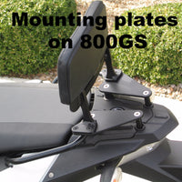Backrest and Mounting Plates for BMW S1000 XR . S1000XR