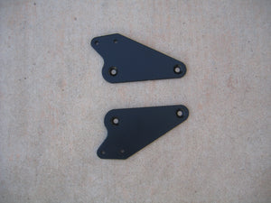 BMW 650GS Twin 700GS 800GS Backrest Mounting Plates
