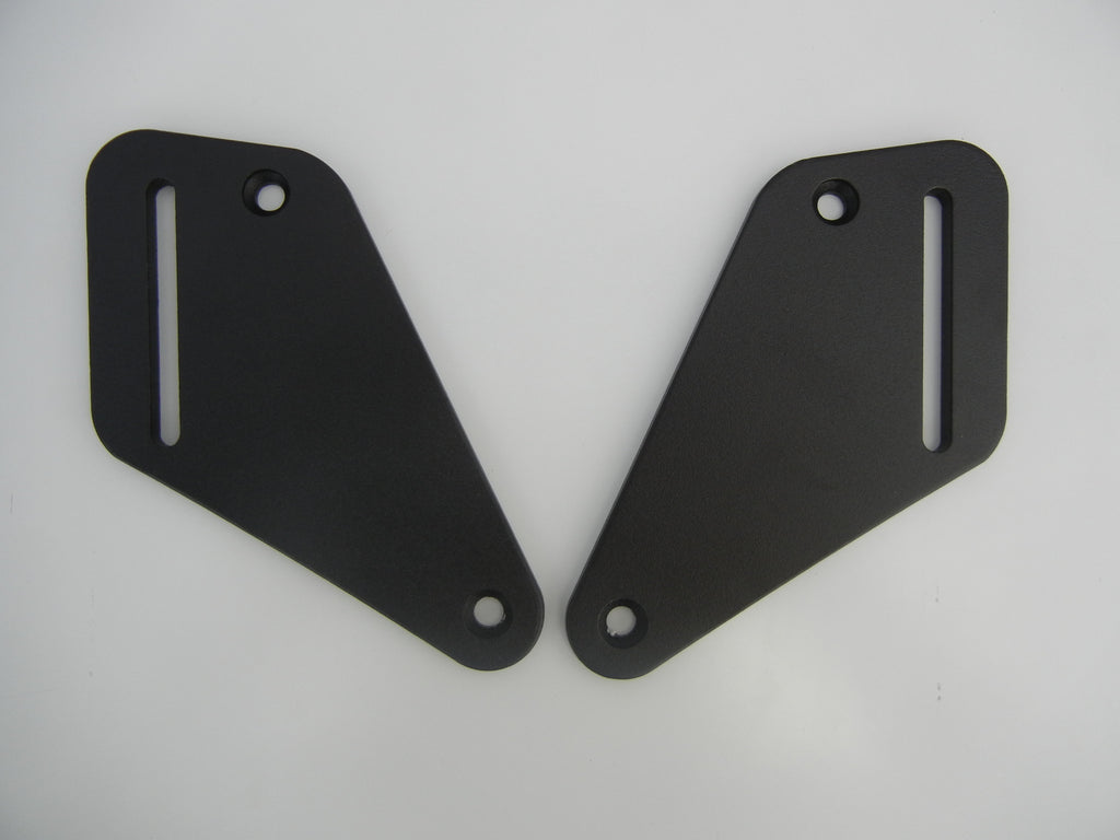 Mounting Plates to go with Passenger Backrest KTM 950 Adv. and KTM 990 Adv. KTM 950/990 Adventure.
