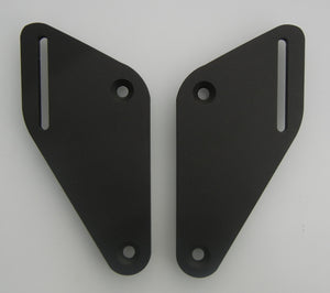 Mounting Plates to go with the Passenger Backrest for the Suzuki V-Strom  DL650 2017+. V-Strom DL 650 17+