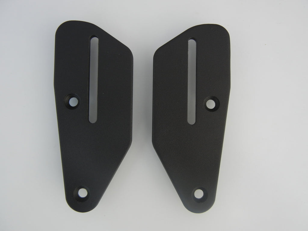 Mounting Plates to go with Passenger Backrest for Triumph Tiger 800, XC, XCX, XCA, XR, XRX, XRT