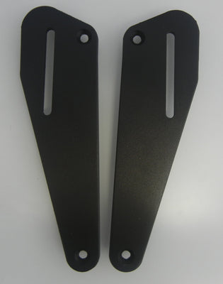 Backrest Mounting Plates to go with Passenger Backrest for the Suzuki V-Strom  DL650 2004-2011. V-Strom DL 650 4'-11'