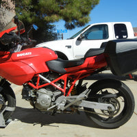 Soft Side Case Rack to Hard Side Case Rack conversion Kit- Ducati MTS 620, 100, 1100