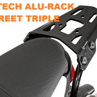 Triumph Street Triple Backrest and Adapter Plate