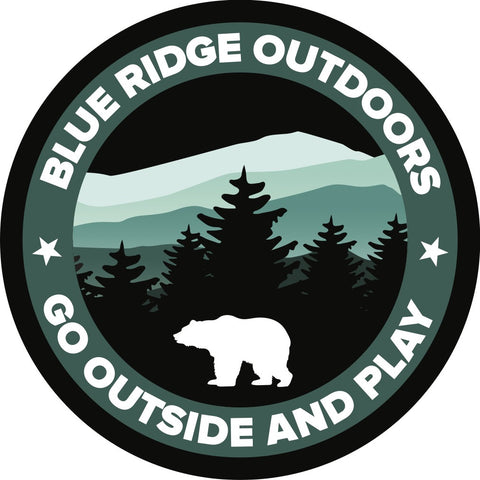 Blue Ridge Mountain BRO Bear Sticker