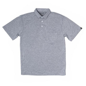 Sport Polo-Heather Grey