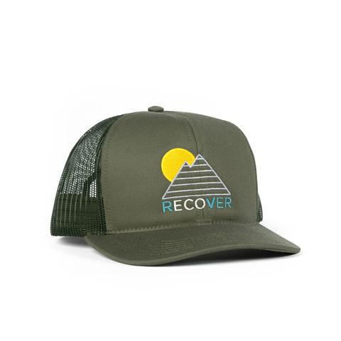 Horizon Trucker Hat- Green