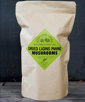 Gourmet Dried Lion's Mane