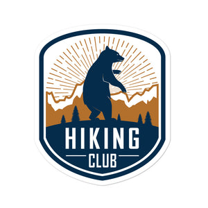 """Hiking Club"" Sticker"