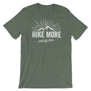 """Hike More, Worry Less"" BRO Tee"