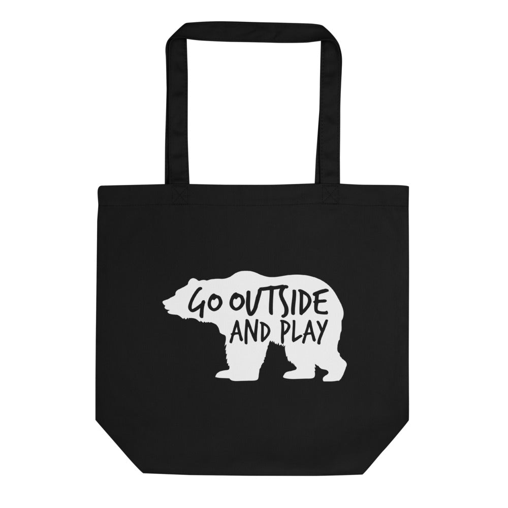 """Go Outside and Play"" Tote Bag"