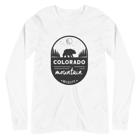 """Colorado Mountain Wildlife"" EO Long Sleeve Tee"