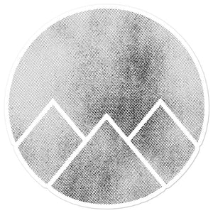 """Mountain"" Sticker"