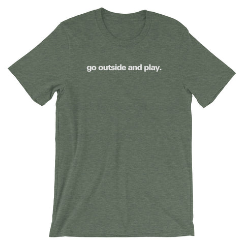 """Go Outside and Play"" EO Tee"