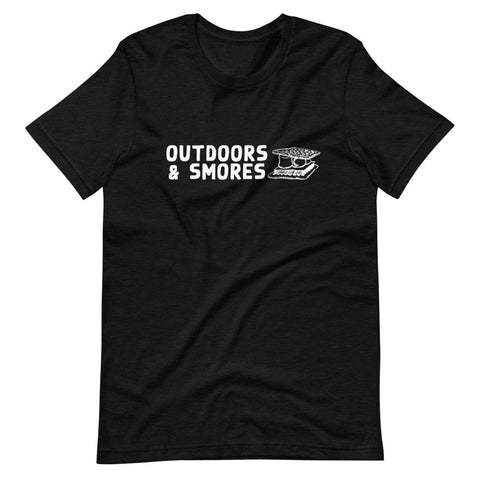 """Outdoors & Smores"" BRO Tee"