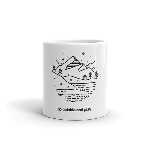 """Go Outside and Play"" Mug"