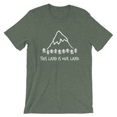 """This Land is Our Land"" BRO Tee"