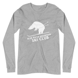 """Blue Ridge Mountain Ski Club"" BRO Long Sleeve Tee"