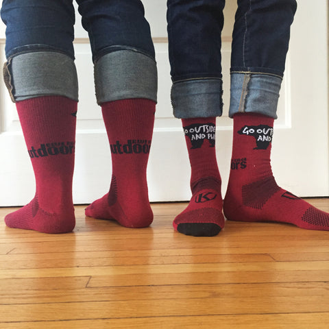 Beary Warm King Technical Apparel Socks