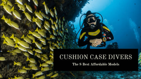 Cushion Case Dive Watches