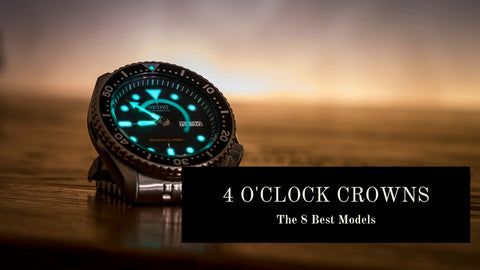 4 o'clock Crown Watches