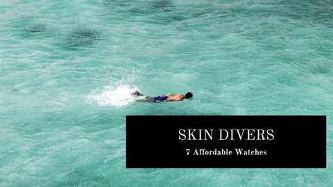 The Best Budget Skin Diver Watches