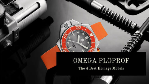 Omega Ploprof Homage Watches