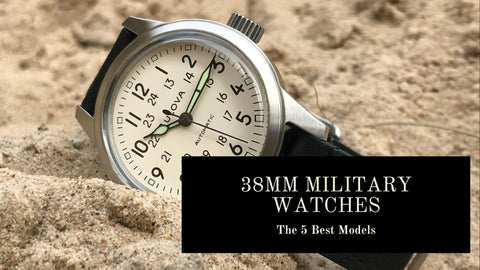 38mm and Under Military Watches