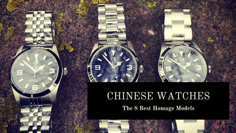 The Best Chinese Homage Watches