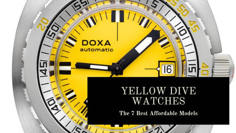 Yellow Dive Watches