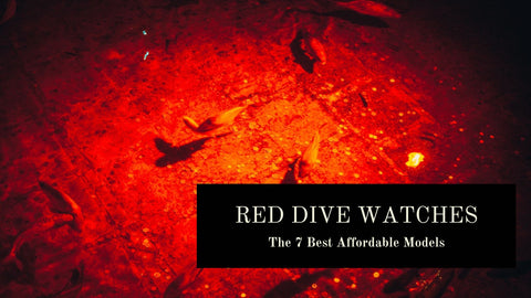 red dial dive watches