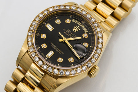 Rolex with Baton Hands
