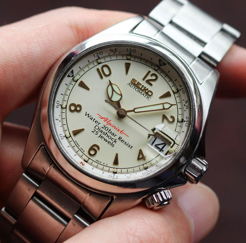 Seiko with cathedral hands