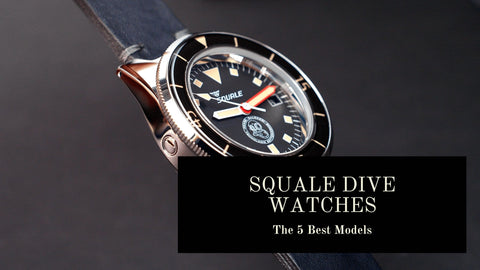 Squale Italian Dive Watches