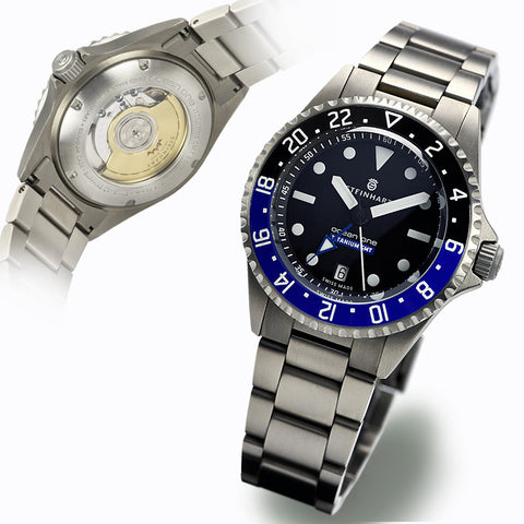 Steinhart Ocean Titan Batman Watch