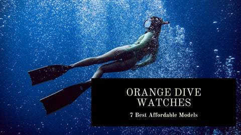 Orange Dial Dive Watches