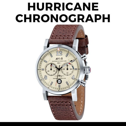 Avi-8 Hurricane Chronograph Watch