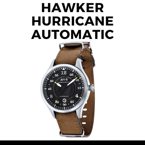 Avi-8 Hawker Hurricane Automatic Watch