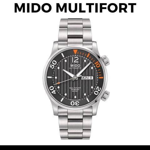 Mido Multifort Watch