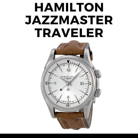 Hamilton Jazzmaster Traveler Watch
