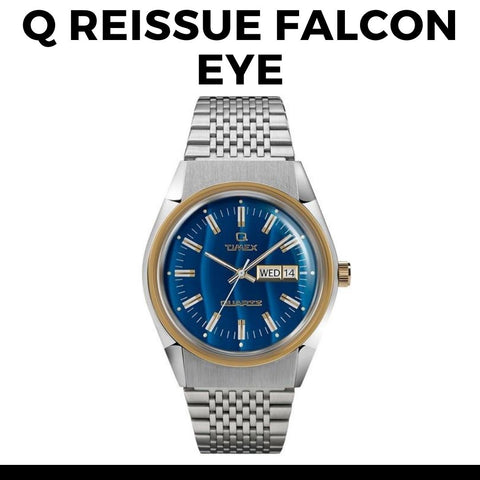 Timex Q Reissue Falcon Eye Watch