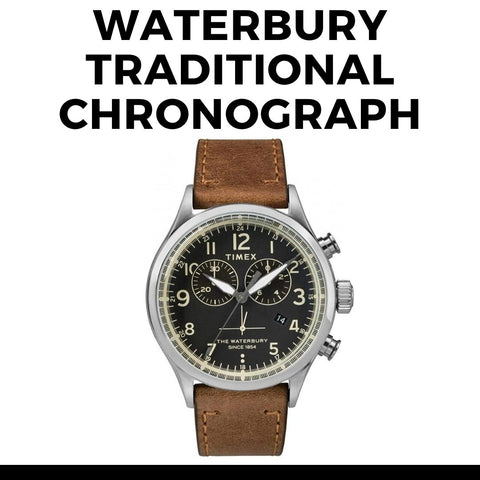 Timex Waterbury Traditional Chronograph Watch