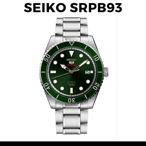 Seiko 5 SRPB93K1 Dive Watch